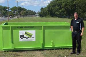 6 Yard Cape Coral Dumpster